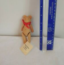 """Handmade Vintage Miniature Resin Bear by Bearly Perfect 5"""""""