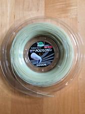 Gosen Tennis string Polylon 17 1,24, Reel 200 m, Natural