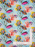 Nautical Tropical Ocean Fish Water Cotton Fabric Windham Coral Reef By The Yard