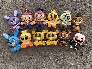 Lot Of 12 FNAF (Five Nights At Freddy's) Original Figure Toys