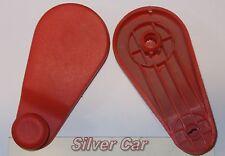 Maniglia alzacristalli in plastica ROSSA Fiat Ritmo / Regata / 127