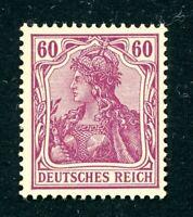 Deutsches Reich MiNr. 92 I a postfrisch MNH Fotoattest Jäschke-Lantelme (MA1089