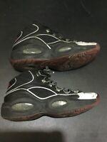 Reebok Question Allen Iversion Jadakiss Shoes Black BD4152 Size 9.5