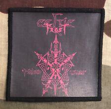 Celtic Frost Morbid Tales Printed Patch C038P Possessed Venom Bathory