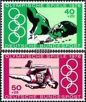 BRD (BR.Deutschland) 886-887 (kompl.Ausgabe) gestempelt 1976 Olympiade