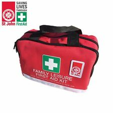 ST JOHN 135 Pieces First Aid Kit Bag Emergency Medical Travel Workplace Safety
