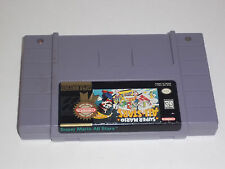 Super Mario All Stars 7 N 1 Super Nintendo SNES Game Cart - Tested!