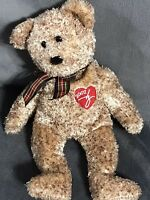 2002 Ty Signature Plush Beanie Baby Bear Brown Speckles Gift Collectible B53