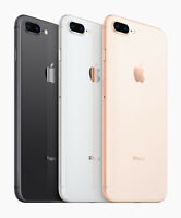 Apple iPhone 8 Plus 8+ 64GB 256GB Verizon AT&T T-Mobile GSM Unlocked Gold Silver