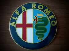 Alfa Romeo COLOR emblem badge logo insignia 74mm for 145, 146, 147,155, 159, 166