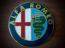 Alfa Romeo COLOR emblem badge logo insignia 74mm for 145, 146, 147,155, 159, 166
