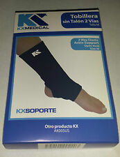 Ankle Sleeve Support Brace 2-Way Elastic Compression Pain Relief Injury Size L