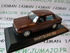 Car 1/43 IXO DEAGOSTINI Balkans : WARTBURG 353 4 doors