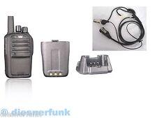 Security Funkgerät Kenwood TK3201 TK3301 16Kanal kompatible prog. PROFI Qualität