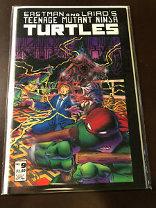 Teenage Mutant Ninja Turtles 9 NM Mirage TMNT T-64