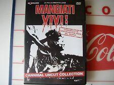 dvd - mangiati vivi - umberto lenzi - cannibal uncut classic