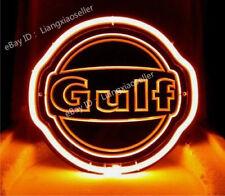 Rare Old Gulf Dealer Gas & Oil 3D Carved  Beer Bar Pub Light Sign Fast Ship