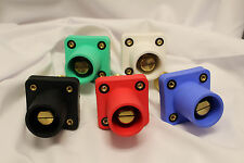 Camlok Panel Mount Male Set 5 Green White Black Red Blue CLS40MRB-ABCDE Set Scre