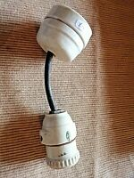 porcelaine blanche ancien isolateur guide fil poignée de porte,bouton déco