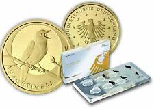 Deutschland 20 Euro Gold 2016 Goldmünze Nachtigall mit Kassette VFS