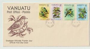FDC First Day Cover - 1981 - Vanuatu - Birds