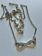 Brighton Crystal Infinity Necklace