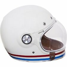 Casco Integrale Bell Bullitt Stripes Pearl White L