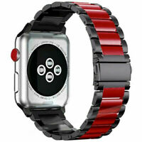 For Apple Watch Series 4 3 2 1 38-44mm Strap Stainless Steel Wrist Band Bracelet