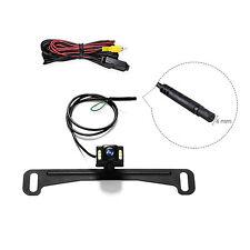 6 LED Light Night Vision Car Rearview Backup Camera For Parking  Reversing Asist
