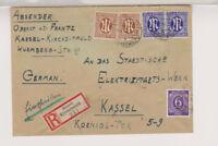Bizone/AM-Post, Mi. 6(2), 9(2) MiF 916, Orts-R-Kassel-Kirchditmold,8.4.46,P2+30
