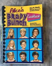 BRADY BUNCH TV Collectible ALICE'S COOKBOOK 1st Ed Spiral Bound 1960s FREE SHIP
