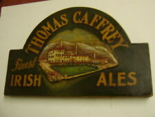 thomas caffrey  Irish ale Vintage Pub bar Sign