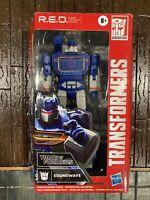 "Soundwave - Transformers Generations G1 R.E.D. RED 6"" Figure Walmart Exclusive"