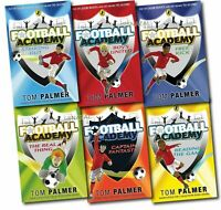 Tom Palmer collection Football Academy 6 Books Set Captain Fantastic Pack NEW PB