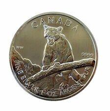 ++ Wildlife Puma 2012 - 1oz Ag / Silber - 5 CAD ++