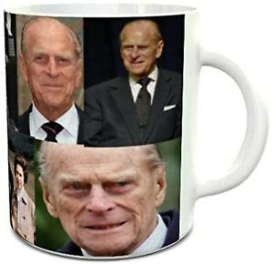 Prince Philip Mug Duke of Edinburgh Mug Prince Philip Through The Years Mug