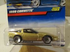 Hot Wheels 1980 Corvette #1103 Gold