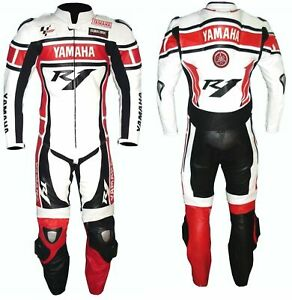 New Yamaha R1 Motorcycle Racing Suit Motorbike Leather Riding Suit
