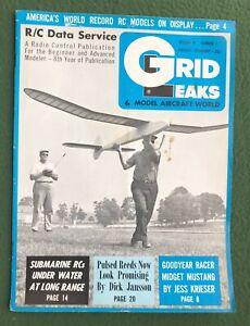 Grid Leaks & Model Aircraft World v6 #7 hobby magazine planes airplanes aviation