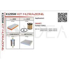 KIT 4 FILTRI TAGLIANDO SMART FORTWO II (451) 800 CDI 07->14