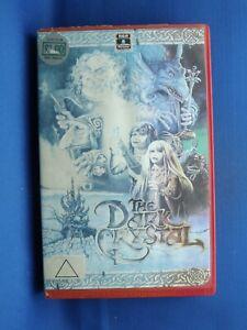 The Dark Crystal VHS Video - Jim Henson - RCS Columbia Pictures - Big Box - Ex R