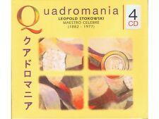 4CD LEOPOLD STOKOWSKI / BACH, WAGNER, FRANCK, STRAUSS * Quadromania