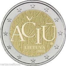 "LITOUWEN SPECIALE 2 EURO 2015 UNC: ""TAAL"""