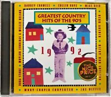 Greatest Country Hits of the 90's: 1992 (CD) - LN. Tested, Plays Perfectly!