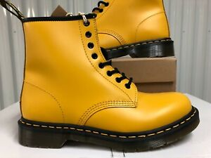 Wmns Dr. Martens 1460 8-Eye Lace Up Combat Boot Yellow US 10 24614700 gigi hadid