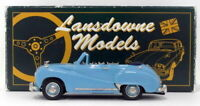 Lansdowne Models 1/43 Scale LDM9A - 1953 Austin Somerset Convertible - Blue