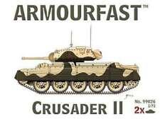 Crusader II Tank (2) -- Plastic Model Tank Kit -- 1/72 Scale -- # 0793573602220