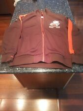 Cleveland Browns Retro Mitchell & Ness NFL Authentic Warmup Premium Jacket MED