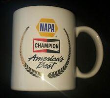 NAPA AUTO CARE CHAMPION SPARK PLUGS AMERICA'S BEST COFFEE CUP MUG PROMO TOLEDO