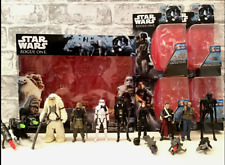 More details for star wars hasbro 3.75 figures lot rogue one - troopers, k-2so, jyn chirrut bodhi